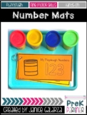 Number Playdough Mats Book