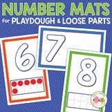 Number Playdough Mats & Loose Parts Mats | Numbers 1-20 Activities