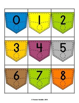 Number Pockets 0-35