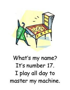 Number Poem Cards 0-33