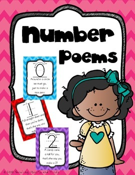 Number Poem Posters