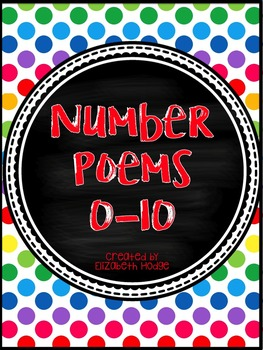 Number Poems~ Basic Colors