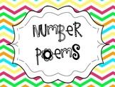 Number Poems Bright Chevron