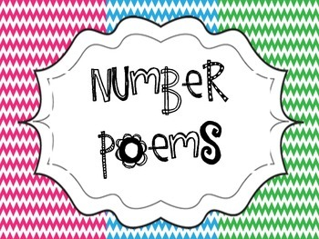 Number Poems Fun Chevron