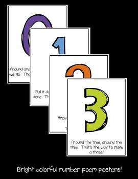 Number Poems Posters