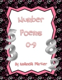 Number Poems for Numbers 0-9
