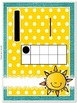 Number Poster Cards {Sunshine, Lace, & Burlap Decor.}