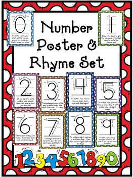Number Poster & Rhymes