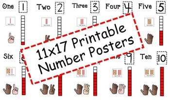 Number Posters (0-10)