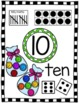 Math Number Anchor Charts 0-10 ~ Kindergarten Common Core ~ Candy Theme