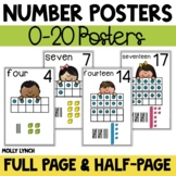 Number Posters {0 - 20}