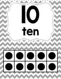 Ten Frame Number Posters 0-20