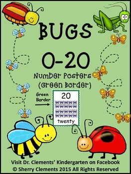 Bugs Number Posters