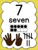 Number Posters for Classroom Decor (0 to 20)