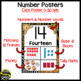 Number Posters 0-20 ~ Jungle/Safari Theme