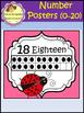 Number Posters 0-20 / Ladybug (School Designchf)