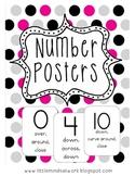 Number Posters 0-20 {freebie}