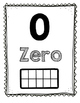 Number Posters 0-20 with Ten Frame