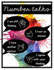 Number Posters 0-20 with Ten Frame (Rainbow and Black)
