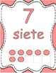 Number Posters 0-20 with Ten Frames in English & Spanish-