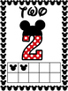 Number Posters 0 to 20 Bundle - Mouse Dot Theme - Classroom Decor