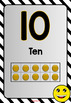 Number Posters (0 to 30) Emoji Theme BACK TO SCHOOL