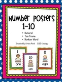 Number Posters 1 - 10