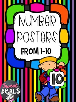 Number Posters 1-10