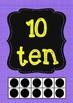 Number Posters 1-10 FREEBIE