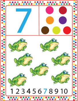 Number Posters 1-10, Flipbook and Worksheets.