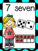 Number Posters 1-10 Kids Theme