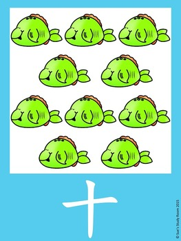 Number Posters 1-10 (Mandarin with/without Pinyin): Animal Theme
