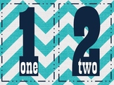 Number Posters 1- 10 and 10-100 by tens