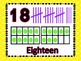 Number Posters 1-20 Bright Dots