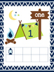 Number Posters 1-20: Camping Theme