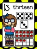 Number Posters 1-20 Kids Theme