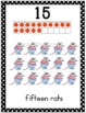 Number Posters 1-20 with Ten Frames