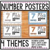 Number Posters 1 - 20 Freebie