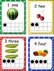 Number Posters 1-20 with Real Pictures of Fruits & Vegetables