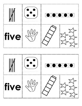 Number Posters 1-9  Activity