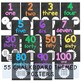 Number Posters 1-50 {Chalkboard theme}