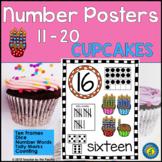 Numbers 11 - 20 Math Anchor Charts ~ Kindergarten Common C