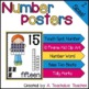 Number Posters 11-20 - Number Word, Ten Frame, Tally Marks, Base Ten Blocks