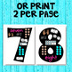 Number Posters - Anchor Charts 0-20