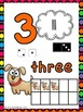 Number Posters: Animal Theme (Numbers 0-20)