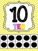 Number Posters: {BRIGHTS}-tens frames