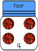 Number Posters- Basketball