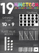 Number Posters | Chalkboard & Brights
