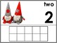 Number Posters/Counting Mats 1-10 With 10 Frames *Christmas Edition *2 Versions