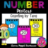 Number Posters - Counting by Tens